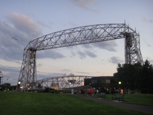 The Aerial Lift Bridge, Duluth.
