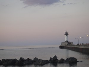 Lake Superior, Duluth Harbor.